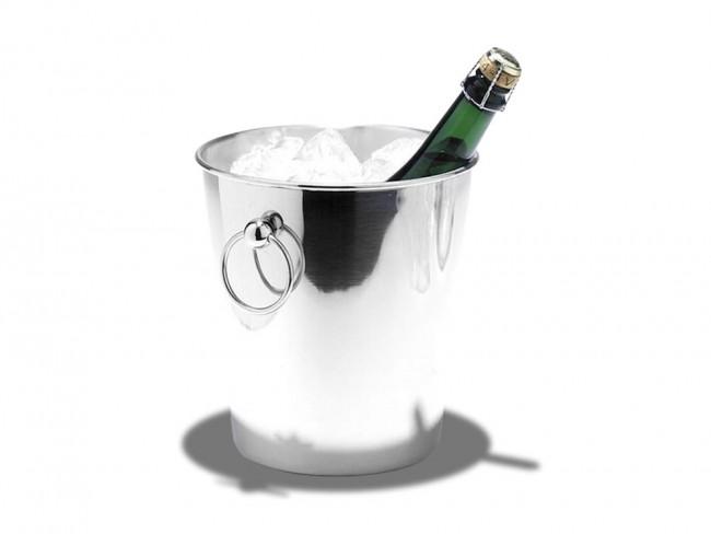 Sektkühler Champagnerkühler Edelstahl