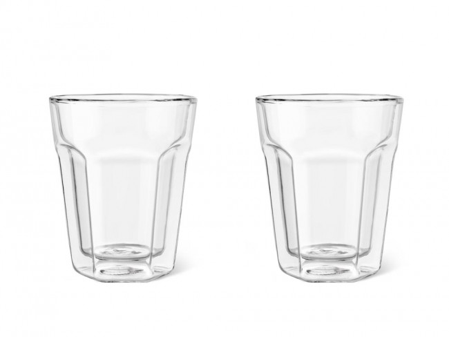 Doppelwandiges Glas 220ml 2er-Set