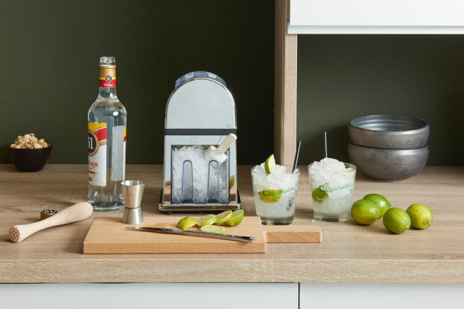 Ice Crusher De Luxe glänzend verchromt