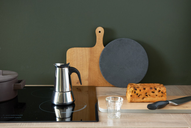 Espressokocher Trevi 4 Tassen induktionsgeeignet