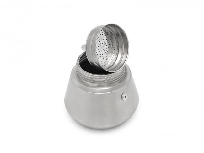 Espressokocher Trevi 6 Cups matt (Induk.)