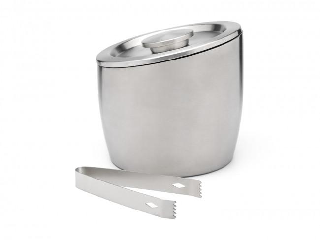 Eisbehälter Edelstahl doppelwandig 2,5L