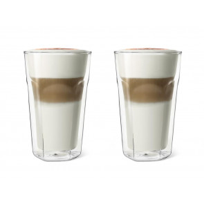 Doppelwandiges Glas 280ml 2er-Set
