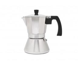 Espressokocher Tivoli 6 Tassen induktionsgeeignet aluminium